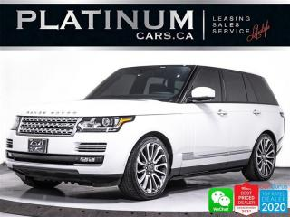 Used 2015 Land Rover Range Rover Autobiography, 510HP, V8, REAR ENTERTAINMENT, PANO for sale in Toronto, ON