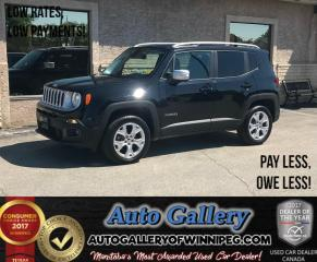 Used 2017 Jeep Renegade Limited *Nav/Roof for sale in Winnipeg, MB