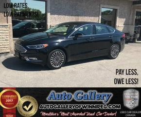 Used 2017 Ford Fusion SE *AWD/Nav for sale in Winnipeg, MB