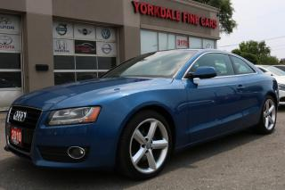 Used 2010 Audi A5 3.2L Navigation, Camera, B&O Sound, No Accidents for sale in North York, ON