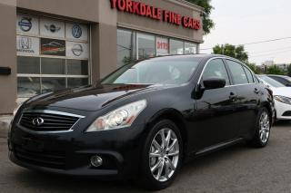 Used 2011 Infiniti G37 Sport *RARE 6 SPEED* Accident Free for sale in North York, ON