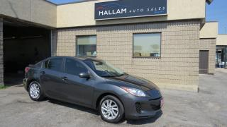 Used 2012 Mazda MAZDA3 GX Bluetooth, Cruise Control, Air Conditioning for sale in Kingston, ON