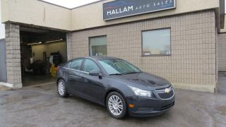Used 2014 Chevrolet Cruze ECO Back up Camera, Bluetooth for sale in Kingston, ON