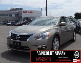 Used 2014 Nissan Altima 2.5 SL TECH|NAVI|BLIND SPOT|LEATHER|SUNROOF| for sale in Scarborough, ON