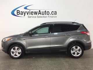 Used 2014 Ford Escape SE - 4WD! ECOBOOST! KEYPAD! PANOROOF! HTD LTHR! SYNC! for sale in Belleville, ON