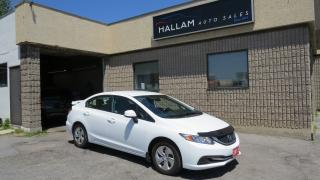 Used 2013 Honda Civic LX 5 Spd Manual, Heated Seats, Bluetooth for sale in Kingston, ON