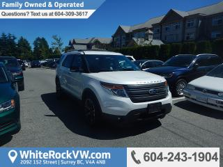 Used 2013 Ford Explorer XLT Heated Front Seats, Radio Data System & remote Keyless Entry for sale in Surrey, BC