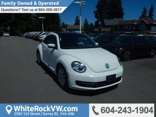Used 2014 Volkswagen Beetle 2.0 TDI Comfortline Radio Data System, Remote Keyless Entry & Heated Front Seats for sale in Surrey, BC