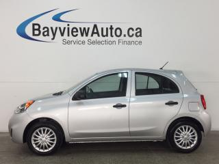 Used 2015 Nissan Micra - 5 SPEED! PURE DRIVE! ECO MODE! for sale in Belleville, ON