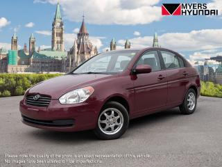 Used 2010 Hyundai Accent GLS 4-Door for sale in Nepean, ON