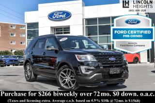 Used 2016 Ford Explorer CPO SPORT 4WD for sale in Ottawa, ON