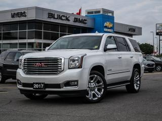 Used 2017 GMC Yukon SLT, NAV, SUNROOF, PREMIUM EDITION, BOSE SOUND, REAR VISION CAMERA for sale in Ottawa, ON
