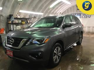 Used 2018 Nissan Pathfinder SV*4WD*NAVIGATION*BACK UP CAMERA*PHONE CONNECT*7 PASSENGER*TRI ZONE CLIMATE CONTROL w/REAR AIR CONTROL*HEATED STEERING WHEEL*PUSH BUTTON IGNITION*BLIN for sale in Cambridge, ON