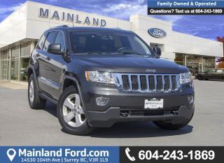 Used 2011 Jeep Grand Cherokee Laredo *LOCALLY DRIVEN* for sale in Surrey, BC