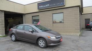Used 2012 Honda Civic LX for sale in Kingston, ON