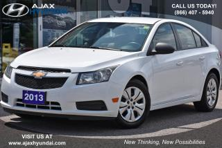 Used 2013 Chevrolet Cruze LS for sale in Ajax, ON