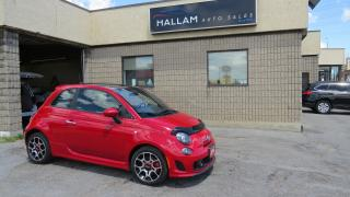 Used 2014 Fiat 500 Sport Turbo 5 Spd Manual, Power Sunroof, Blk leather int, heated seats for sale in Kingston, ON