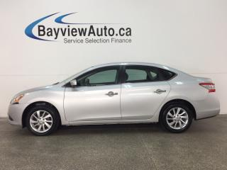 Used 2015 Nissan Sentra 1.8 SV - PURE DRIVE! ALLOYS! SUNROOF! HTD STS! NAV! REVERSE CAM! for sale in Belleville, ON