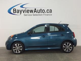 Used 2015 Nissan Micra SR - PURE DRIVE! ALLOYS! ECO MODE! REVERSE CAM! CRUISE! for sale in Belleville, ON