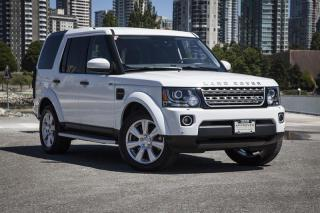 Used 2015 Land Rover LR4 HSE *Certified Pre-Owned! for sale in Vancouver, BC