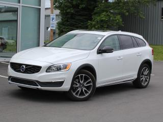 Used 2017 Volvo V60 Cross Country T5 AWD | FULL VOLVO WARRANTY TO 160K for sale in Fredericton, NB