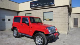 Used 2018 Jeep Wrangler JK Sahara 4WD, Saddle Brown Leather int., Navagation, Bluetooth for sale in Kingston, ON