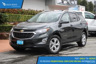 New 2019 Chevrolet Equinox LT Heated Seats & Satellite Radio for sale in Port Coquitlam, BC