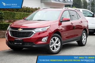 New 2019 Chevrolet Equinox LT Sunroof, Navigation, Dual Climate, Heated Seats for sale in Port Coquitlam, BC