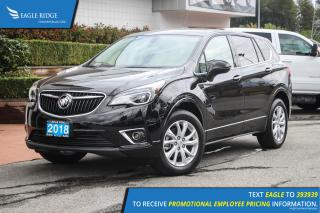 New 2019 Buick Envision Preferred Satellite Radio & Backup Camera for sale in Coquitlam, BC