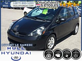 Used 2007 Honda Fit LX for sale in Gatineau, QC