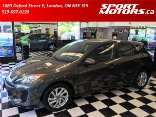 Used 2013 Mazda MAZDA3 Hatchback+Bluetooth+Cruise+New Tires+A/C+AUX&USB for sale in London, ON