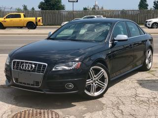Used 2010 Audi S4 NAVI, BACK UP CAM, BANG&OLUFSEN SOUND for sale in Mississauga, ON