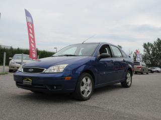 Used 2006 Ford Focus SES ZX4 / AUTO / LEATHER / ROOF / ACCIDENT FREE for sale in Newmarket, ON