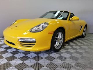 Used 2010 Porsche Boxster Manual | Sound PKG PLUS | Bluetooth | Speed Yellow for sale in Edmonton, AB