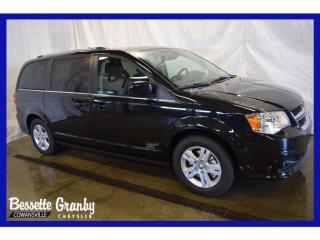Used 2018 Dodge Grand Caravan Crew +hitch, Dvd for sale in Granby, QC