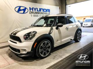 Used 2014 MINI Cooper Countryman S ALL4 JCW DESIGN + TOIT + CUIR + WOW ! for sale in Drummondville, QC