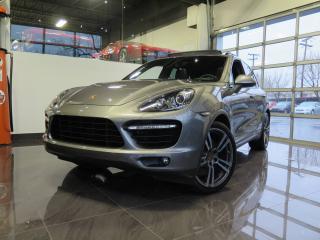Used 2013 Porsche Cayenne Turbo|AWD|NAVI|V8 500HP|SPORT| for sale in Saint-leonard, QC