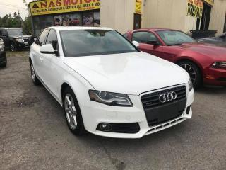 Used 2009 Audi A4 2.0 T Sedan quattro Tiptronic for sale in Scarborough, ON