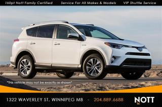 Used 2016 Toyota RAV4 XLE 1 Owner AWD Leather Moonro for sale in Winnipeg, MB