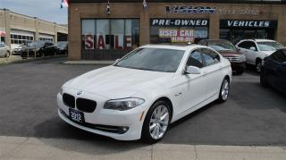 Used 2012 BMW 535xi (A8)/B UP CAMERA/FRONT-BACK SENSORS/NAVI for sale in North York, ON