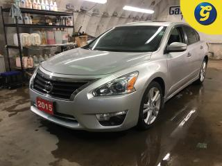 Used 2015 Nissan Altima 3.5 SL*NAVIGATION*POWER SUNROOF*LEATHER*PHONE CONNECT*BACK UP CAMERA*FRONT HEATED SEATS*HEAT STEERING WHEEL*LANE DEPARTURE*BLIND SPOT ASSIST*KEYLESS E for sale in Cambridge, ON