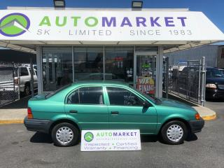 Used 1997 Toyota Tercel CE AUTO WE CAN FINANCE ANY CREDIT! for sale in Langley, BC
