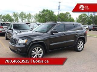 Used 2011 Jeep Grand Cherokee SUNROOF, LEATHER, NAV, BACKUP CAMERA, HEATED SEATS for sale in Edmonton, AB