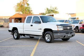 Used 2005 Chevrolet Silverado 2500 6.6L Diesel 4X4 for sale in Brampton, ON