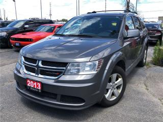 Used 2013 Dodge Journey Canadian Value Package**Bluetooth**Automatic** for sale in Mississauga, ON