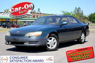 Used 1996 Lexus ES 300 V6 LEATHER SUNROOF HTD SEATS PWR GRP ALLOYS for sale in Ottawa, ON