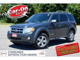 Used 2008 Ford Escape XLT 3.0L 4WD A/C CRUISE ALLOYS for sale in Ottawa, ON