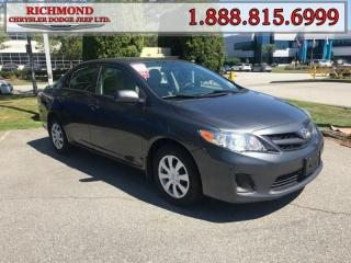 Used 2013 Toyota Corolla for sale in Richmond, BC