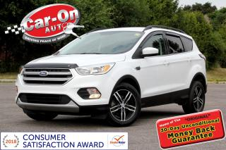 Used 2017 Ford Escape ECOBOOST REAR CAM HTD SEATS ALLOYS LOADED for sale in Ottawa, ON