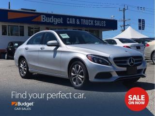 Used 2015 Mercedes-Benz C-Class Radar Assisted Parking, Low Kms, AWD for sale in Vancouver, BC